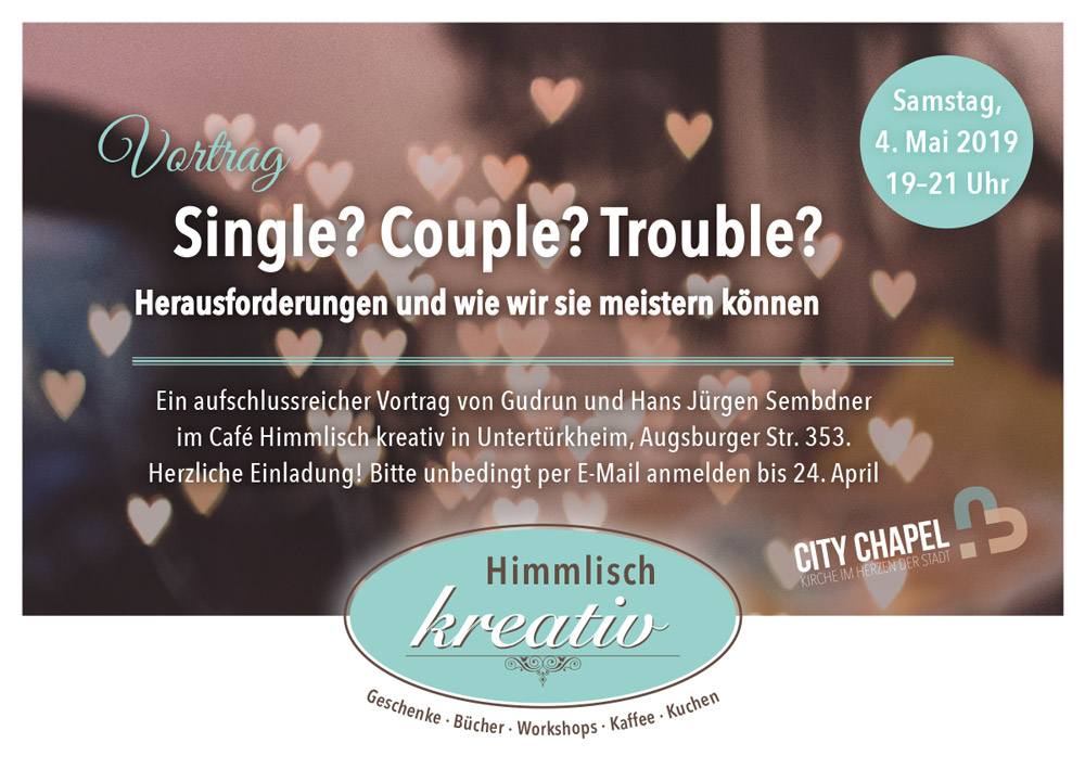Vortrag - Single - Couple - Trouble